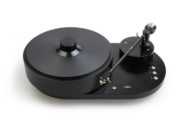 A very fancy record player